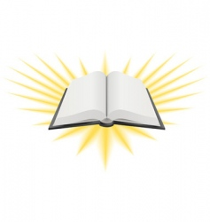 Holy book illustration vector