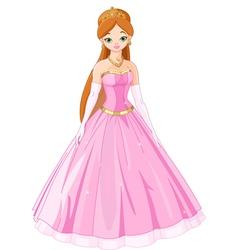 Fairytale princess vector
