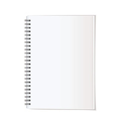 Portrait note pad vector