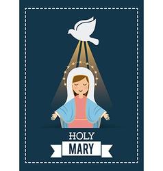 Holy mary vector