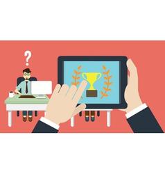 Business human resource vector