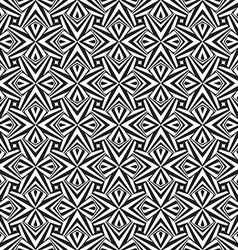 Abstract black and white textured geometric vector