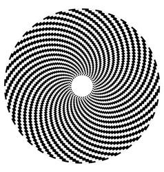 Optical art series sphere vector
