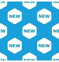 New hexagon pattern vector