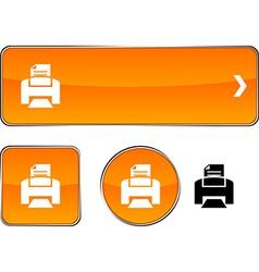 Print button set vector