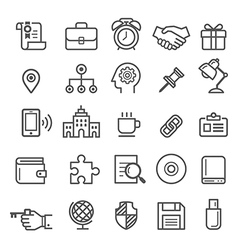 Business element icons vector