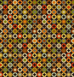 Retro abstract colorful seamless pattern vector