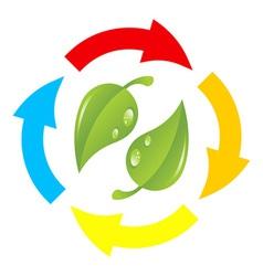 Nature abstract symbol vector