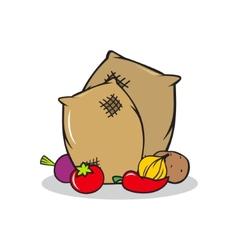 Harvest sign vector