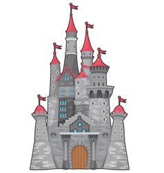 Medieval and fantasy castle vector