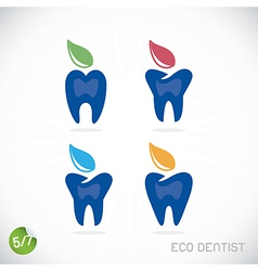 Dentist symbols vector