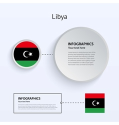 Libya country set of banners vector