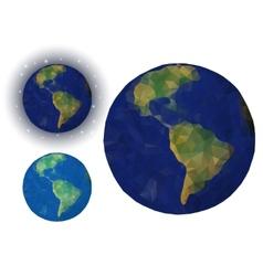 Paper earth vector