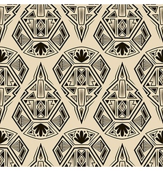 Seamless antique art deco pattern ornament vector