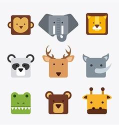 Animals cute vector