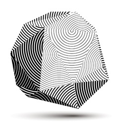 Contemporary technology black and white stylish vector