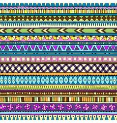 Original drawing tribal doddle ethnic pattern vector