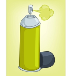 Cartoons decoration spray paint vector