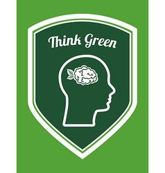 Think green vector