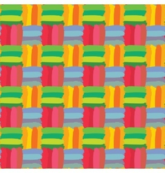 Colorful check seamless pattern vector