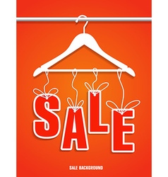 Sale banner design decoration vector