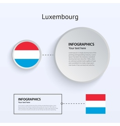 Luxembourg country set of banners vector