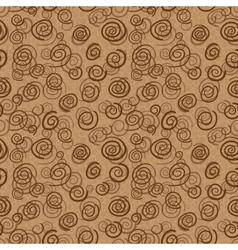 Abstract chocolate swirls vector