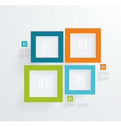 Frames numbers vector
