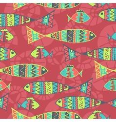 Background aboriginal style symbolic seamless vector