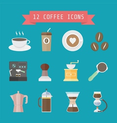 Coffeeiconmix vector