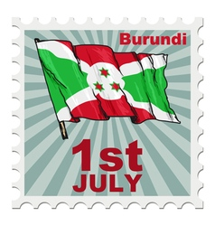 National day of burundi vector