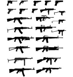Gun collection vector