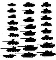 Tanks vector