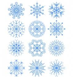 Snowflakes vector