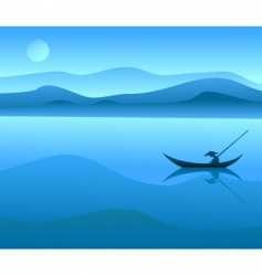 Chinese landscape vector