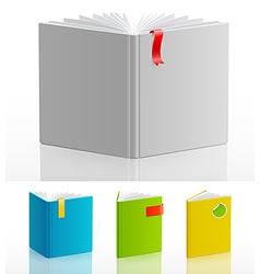 Bookstand set vector