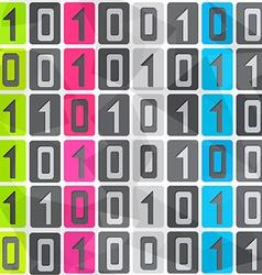 Tech seamless pattern vector