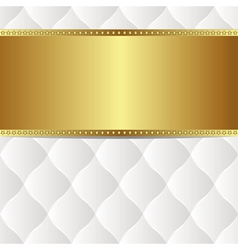 White gold background vector
