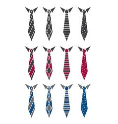 Set of ties vector