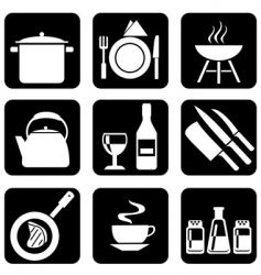 Icon food vector