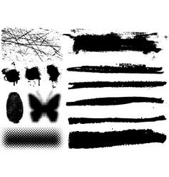 Grunge design elements vector