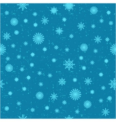 Snow seamless background vector