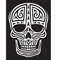 Tribal skull vector