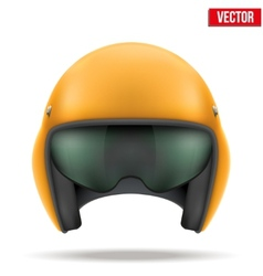 Aaircraft marshall helmet vector