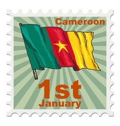 National day of cameroon vector