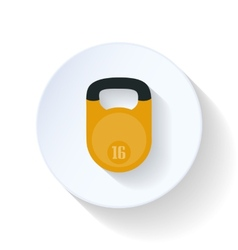 Weight flat icon vector