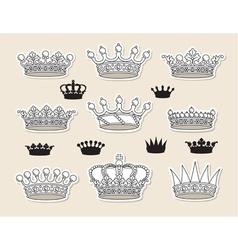 Ctor crowns vector