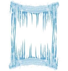 Ice frame vector