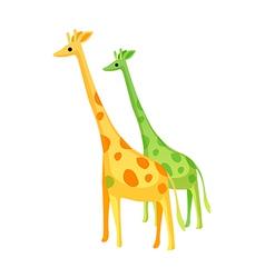 Icon giraffe vector