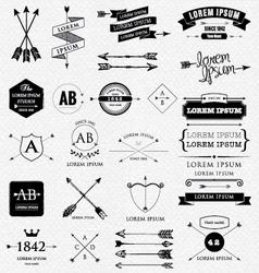 Arrows design vector